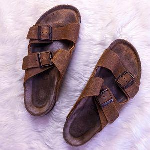 Birkenstock Soft Footbed Leather Arizona S…